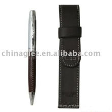 gift pen set, PU leather pen set