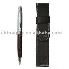 Подарочный набор ручка, PU кожа перо набор