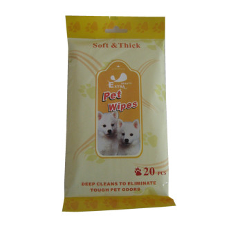 Alcohol Free Organic Pet Wet Tissues For Dogs
