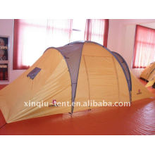Double layer 3-4 person outdoor family camping tent