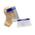 Máscaras faciais transparentes descartáveis para visor de proteção