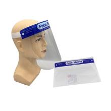 Защитные козырьки одноразовые прозрачные маски для лица
