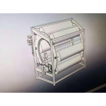 Máquina para fabricar tubos ovalados de acero inoxidable