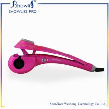 Cepillo de pelo de cerámica con pantalla LCD Cepillo de pelo automático