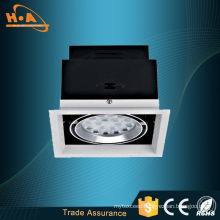 Best Selling High Bright Square 25W LED COB Grille Light