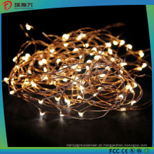 A corda amarela do fio de cobre do diodo emissor de luz da cor ilumina L1013-008