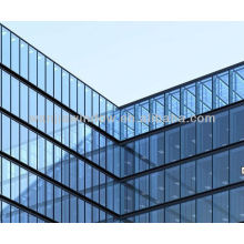 low-e exterior glass curtain wall design foshan factory