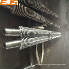 65/132 counter rotating conical twin screw barrel