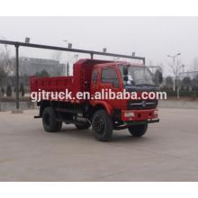 Shacman brand 4X2 drive dump truck para 6-16 metros cúbicos