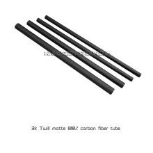 5x3x1000mm 3K Twill/Plain Roll Wrapped Carbon Fiber Tubes