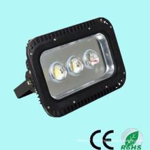 La alta calidad llevó la luz de inundación fabricante ip65 100-240V 12-24V 85-265V las luces de estacionamiento 150w se encendieron solar