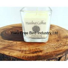 Bougie au soja parfumée naturelle la plus populaire - café aux noisettes