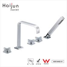 Haijun 2017 Unique Design Deck montou cachoeira termostática banheira torneiras
