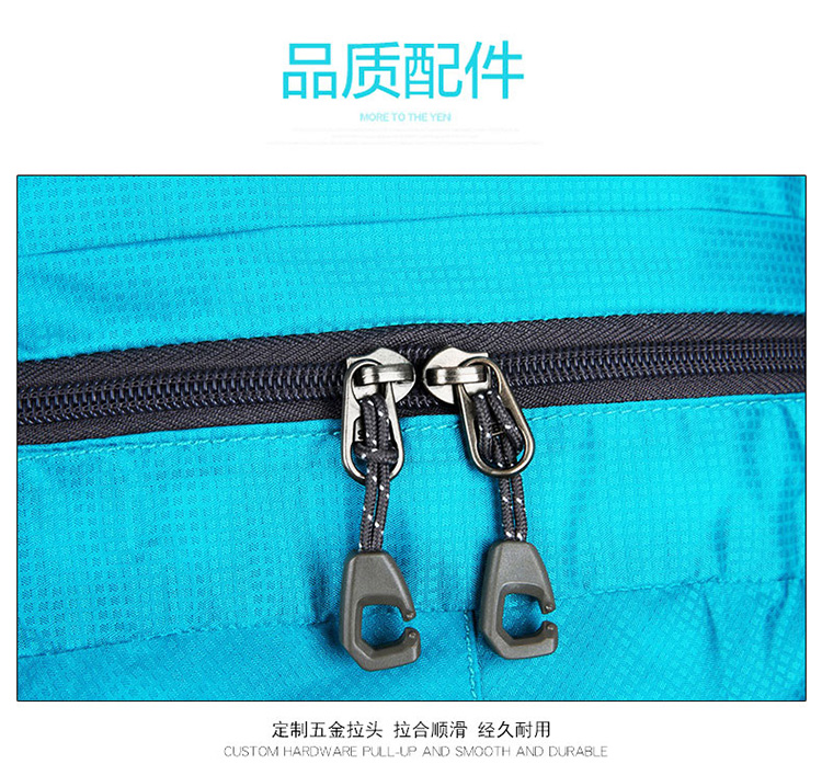 Promotional outdoor nylon backpack