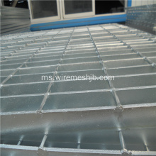 Galvanized heavy duty walkway steel grating
