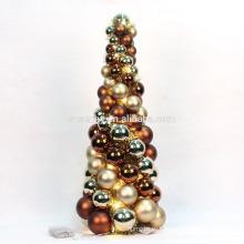 светодиодные настольные украшения небольшой Рождественская елка орнамент