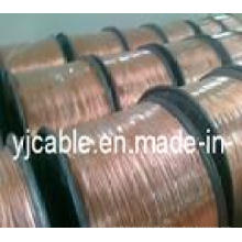 Kupfer verklebter Aluminiumdraht 15 Kupfergehalt