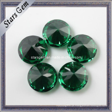 Preço competitivo da fábrica Dark Emerald Color CZ Gemstone for Jewelry