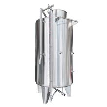 Sanitary storage tank  200-2000L top open conical tank Stainless steel wine milk beverage storage tank