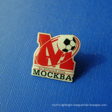 Offset Printing Ball Lapel Pin, Epoxy-Dripping Badge (GZHY-OP-022)