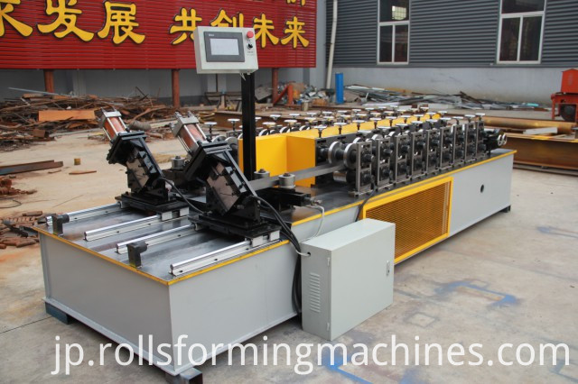 combined Metal Stud Cold Roll Machine (3)