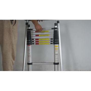 NEW EN131 super quality aluminium multifunctional cable loft folding exsenion ladder