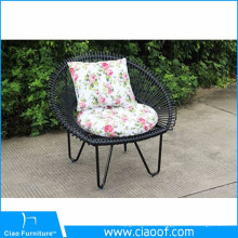 Garden Round Wicker Chair Unique Design Peacock Chair