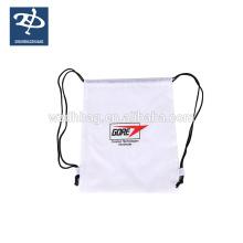 Customized Logo Polyester Drawstring Bag Reusable Sports Backpack