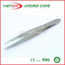 Pinças de aço cirúrgico HENSO