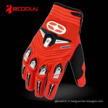 Gant de vélo de vélo de moto Bicycle Full Finger Sports Protective Racing Glove (3231)
