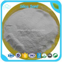 Preço competitivo da areia de sílica de quartzo