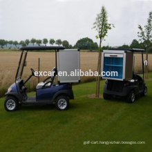 Electric Fuel Type,2 persons golf cart with rooling door cargo for sale