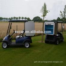 Tipo elétrico do combustível, carro de golfe de 2 pessoas com carga da porta rooling for sale