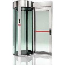 Porte ATM automatique (cabine de sécurité)