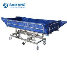 SK005-10H Motorized Hospital Treatment Electric Bath Bed