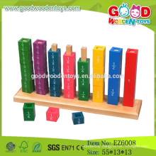 2015 Hot Sale Wooden Stack Block,Educational Cube Stack Tower,Funny Stack Toy