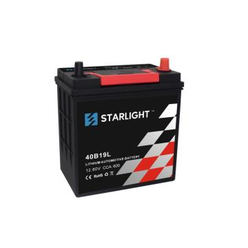Batterie au lithium automobile LiFePO4 40B19L