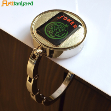 Custom Round Bag Hanger With Plating Color