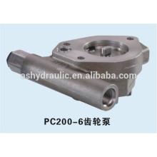 Pompe à engrenages charge hydraulique Komatsu PC200-6