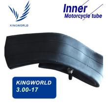 3.00-17 tubes pour moto en matériau caoutchouc haute résistance