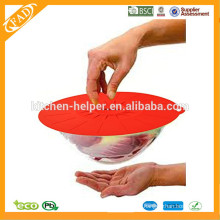 Especialmente Design durável flexível máquina de lavar louça cofre Silicone esticar tampas / tampa da sucção / tampa da tampa do pote
