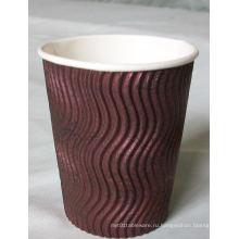 Кофейная чашка горячего сбывания горячего сбывания с крышкой