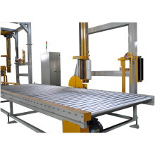 Kualitas tinggi Automatic Rotary Arm pallet stretch wrapper