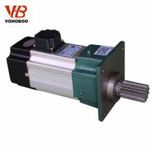 Estator de alta precisão e rotor de laminação de engrenagens elétricas com caixa de engrenagens para guindaste