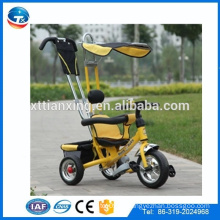 2014 Новый стиль детей EVA три колеса ребенка дети трицикл игрушки, безопасности ребенка трехколесный велосипед, ездить на автомобиле дети трехколесный велосипед с крышей