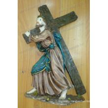 Catholic Resin Jesus Christ Cross Figurine