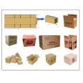 Komplette Wellpappe-Karton-Fertigungslinie