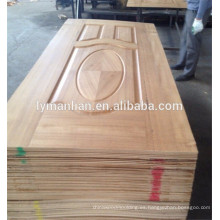 Diseño de puertas de melamina / puertas de madera ornamentales / revestimiento de chapa de la puerta