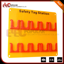 Elecpopular Customized Acrylic Board With ABS Material 10 Tagout Positions Safety Tag Station