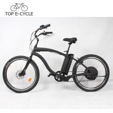 TOP E Fahrrad Vintage a2b elektrische Cruiser Strand Fahrrad 26Zoll Elektro-Bike China